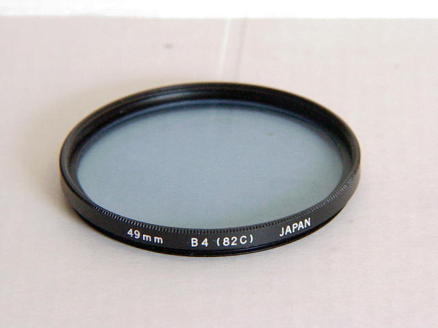 Olympus 49mm 82C color filter brand new in box